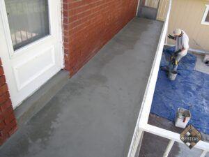 Standard Gray Overlay On Balcony