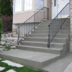 Restored Concrete Entry Steps