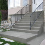 Restored Stairs In Standard Gray Finish