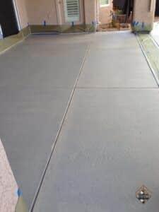Bare Concrete After Carpet Removal