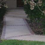 Brick Designed Entry