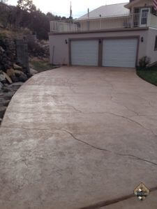 Textured Stone Driveway