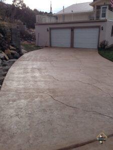Textured Stone Driveway