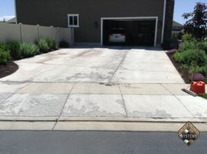 7-Year Old Spalled Driveway