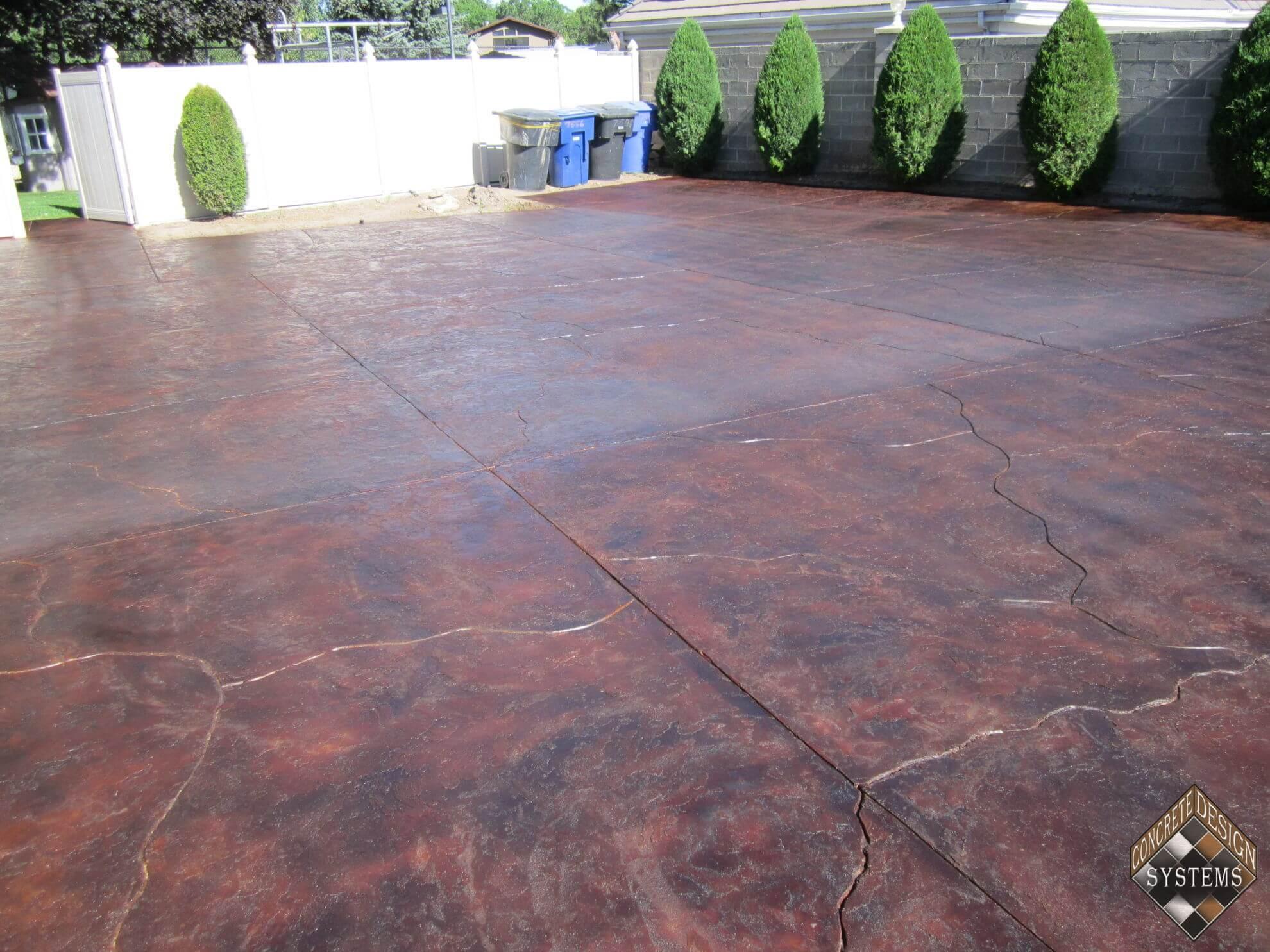 Decorative Concrete Floors Color