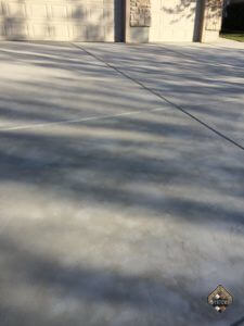 Plain Gray Finished Overlay Driveway