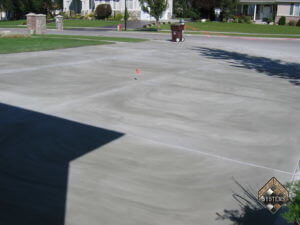 Driveway Overlay In Plain Gray