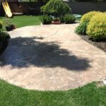 Weathered Stamped Patio
