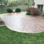 Renewed Stamped Concrete