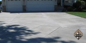 Resurfaced Standard Finish Overlayed Driveway