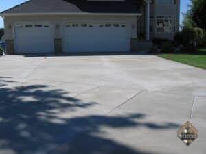 Resurfaced Standard Finish Overlayed Driveway