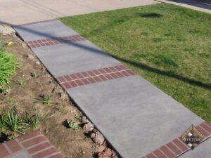 Brick Pattern Walk