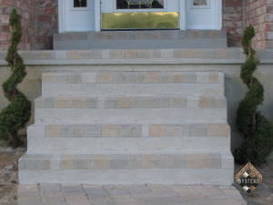 Cobble Stone Steps