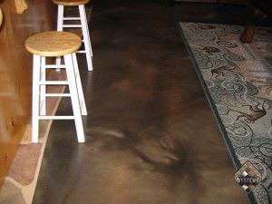 Basement Stained Overlay