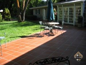 Courtyard Tiled Pattern Overlay