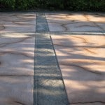 Patio Cracked Rock Overlay