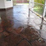 Concrete Deck Stone Overlay