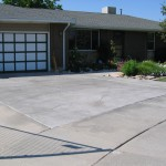Driveway Cracked Rock Overlay Gray Highlights
