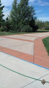Driveway New Look Color Stain