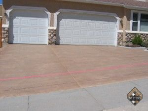 Driveway Stained Overlay