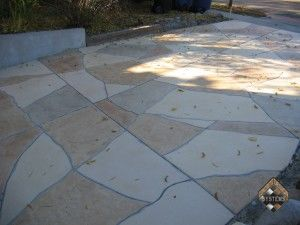 Driveway Stone Overlay