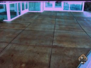 Entry Acid Stained Concrete