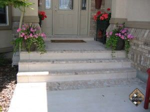 Entry Steps Brick Overlay