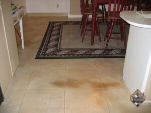 Concrete Floor Tiled Overlay