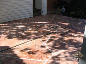 Patio Arizona Stone Overlay