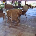 Patio Decorative Tile Overlay
