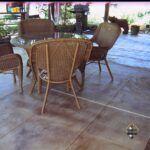 Patio Decorative Tile Overlay