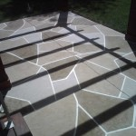 Patio Natural Stone Overlay
