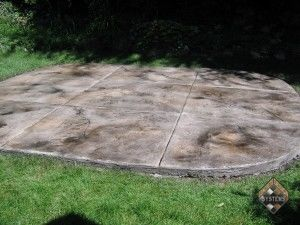 Patio Stained Overlay