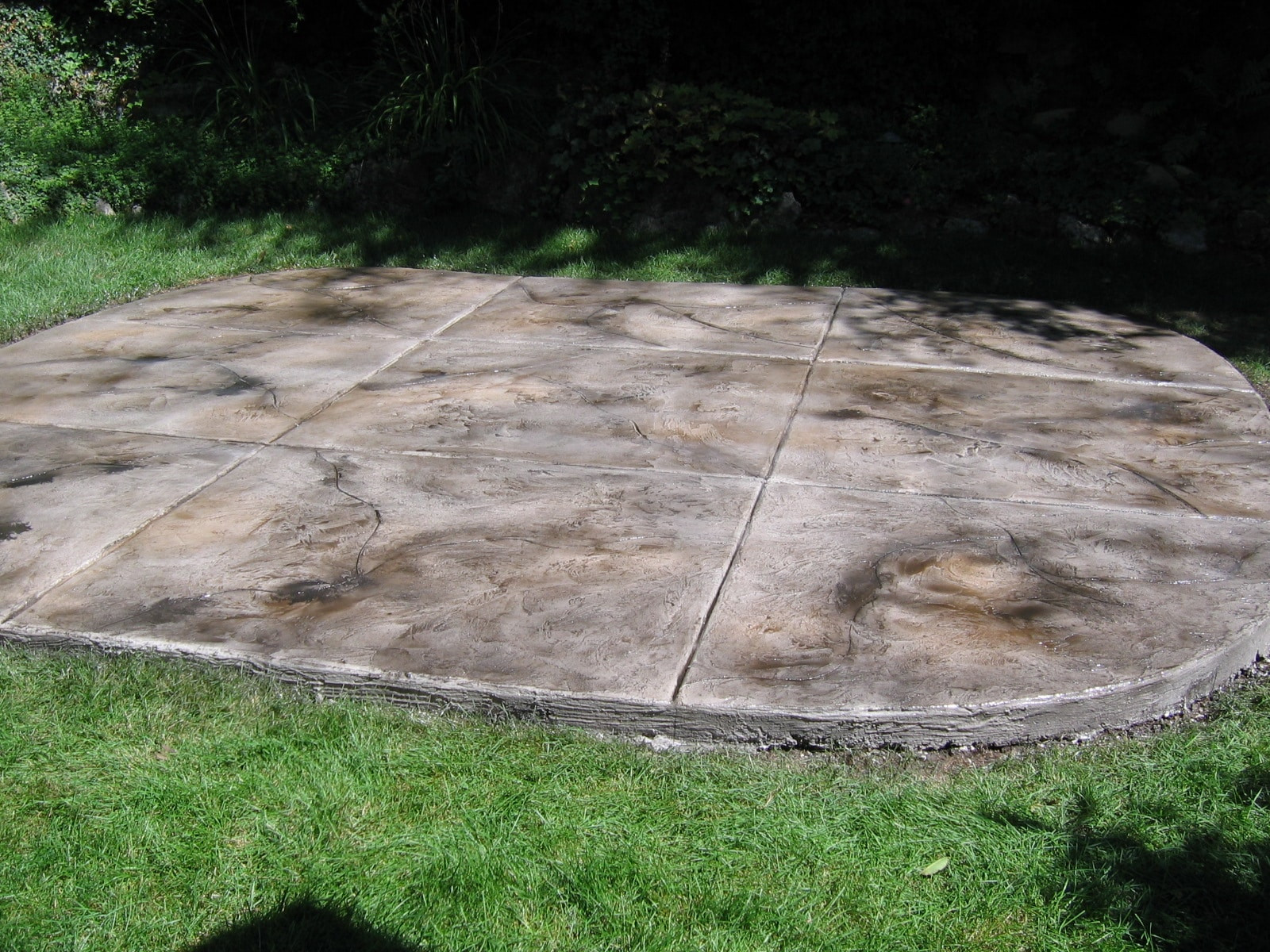 Superieur Patio Stained Overlay