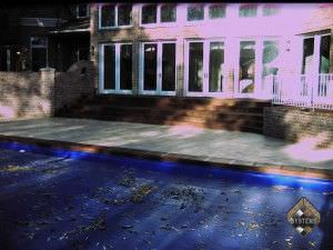 Pool Deck New Look Color Staining