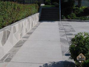 Walkway Stone Overlay
