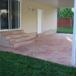 Decorative Flagstone Overlay
