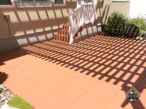 Terracotta Patio Overlay