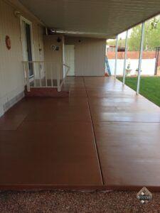 Spanish Clay Patio