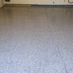 Haze Gray Epoxy With Black, Gray, White And Brown Chips