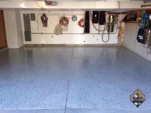 Pearl Gray Epoxy With Brown, Black, White Chips