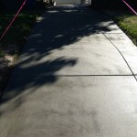 Basic Gray Resurfaced Driveway