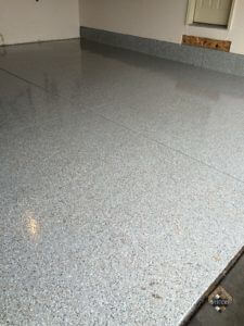 Epoxy Garage Floor With Chips