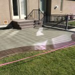 Total Remake Of Existing Stamped Concrete