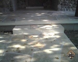 Natural Stone Entry