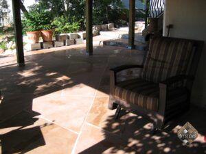 Patio Arizona Rock Pattern