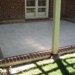 Patio Brick Borders