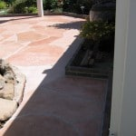 Patio Concrete Arizona Stone