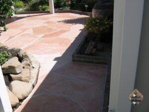 Patio Concrete Arizona Stone