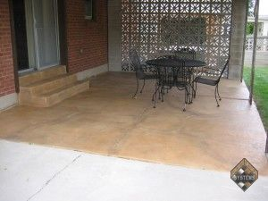 Patio Cracked Pattern